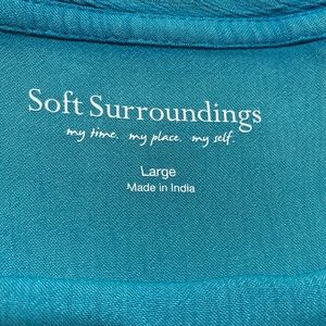 "Soft Surroundings ""April Tee"" - Large"